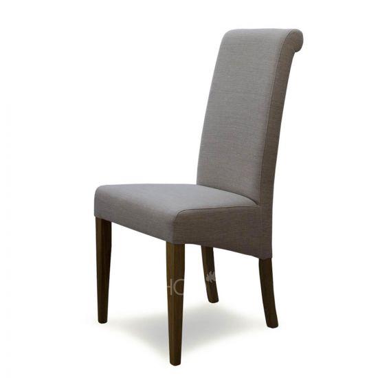 Italia Chair in Beige Fabric