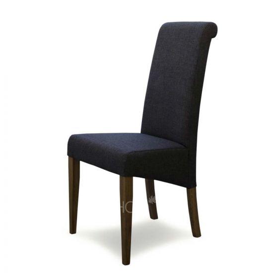 Italia Chair in Stone Fabric