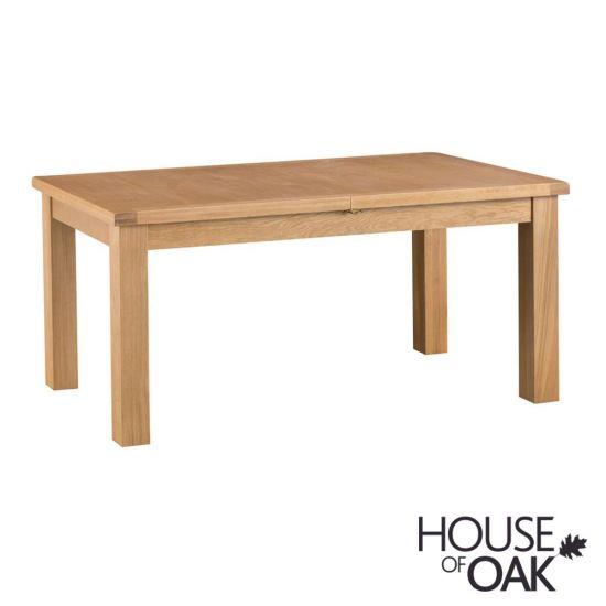 Harewood Oak 170cm Butterfly Extending Table