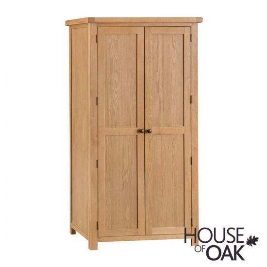 Harewood Oak 2 Door Wardrobe