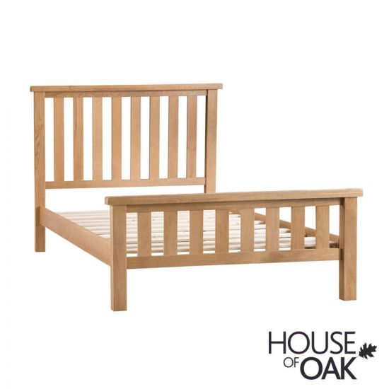 Harewood Oak 4FT 6'' Double Bed