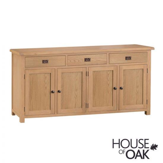 Harewood Oak 4 Door Sideboard