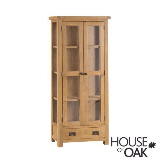 Harewood Oak Display Cabinet