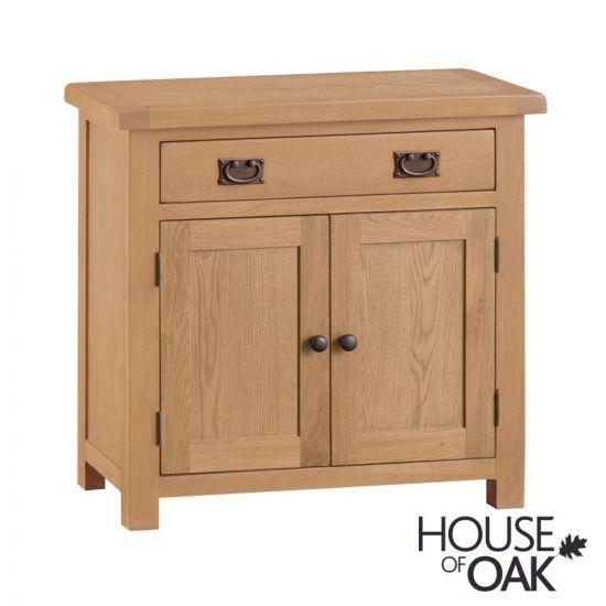 Harewood Oak Small 2 Door 1 Drawer Sideboard