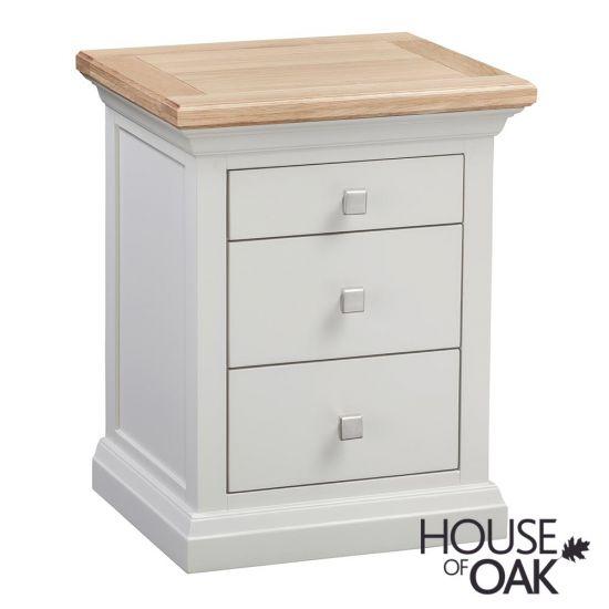 Cotswold Moonlight 3 Drawer Bedside Cabinet