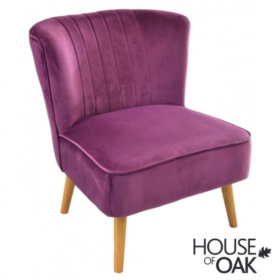 Cromarty Chair - Plum
