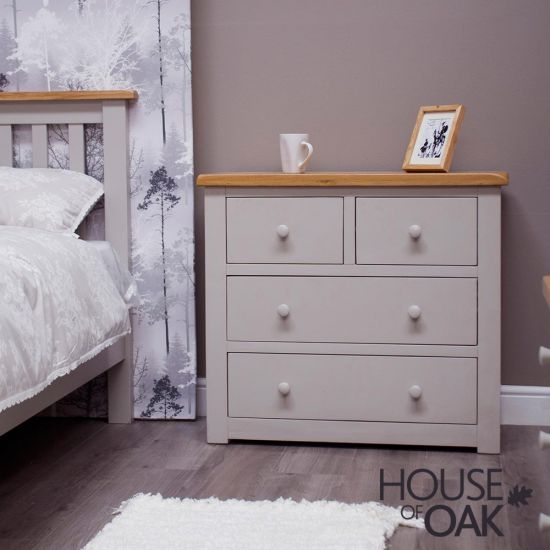 Diamond Grey 2 Over 2 Chest of Drawers