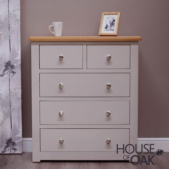 Diamond Grey 2 Over 3 Chest of Drawers