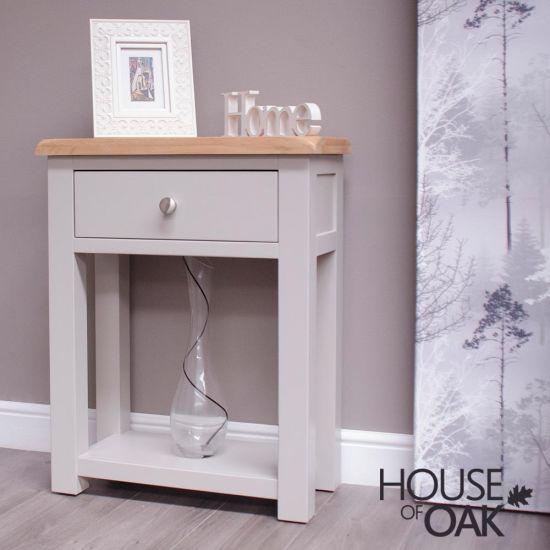 Diamond Grey Small Hall Table