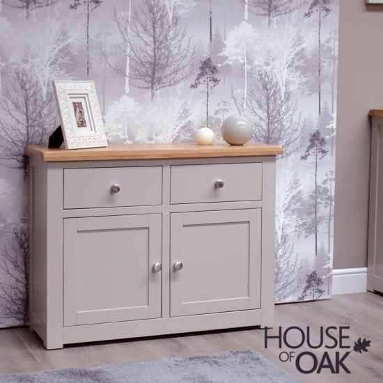 Diamond Grey Small Sideboard