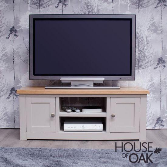 Diamond Grey 2 Door TV Cabinet
