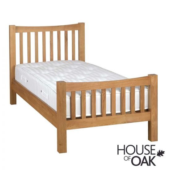 Keswick Oak 3FT Single Bed