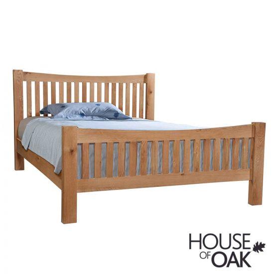 Keswick Oak 5FT King Size Bed
