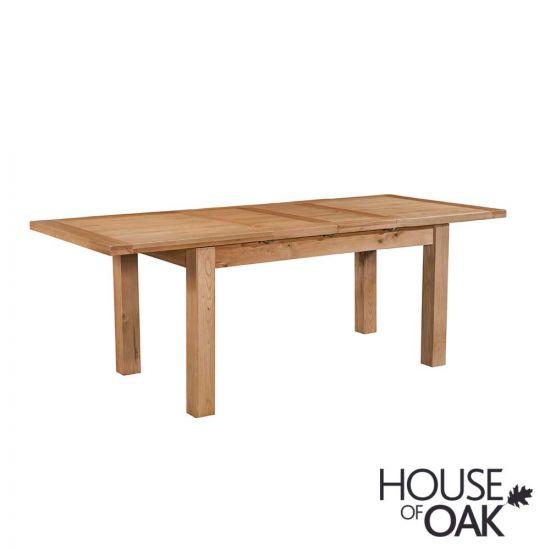 Keswick Oak 132cm Extending Dining Table