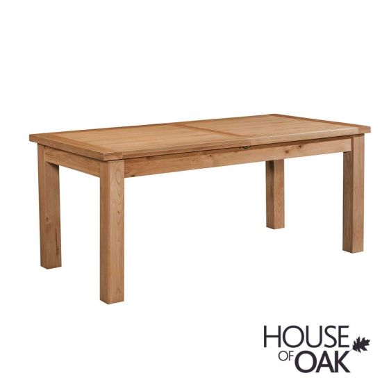 Coniston Oak 180cm Large Extending Dining Table