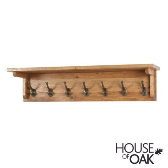 New Hampshire Oak Coat Rack