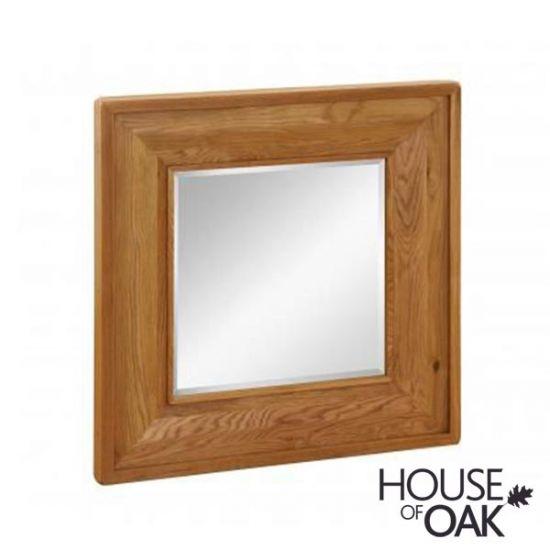 New Hampshire Oak Mirror 90cm Wide