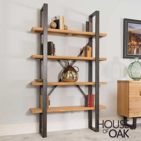 Harmony Oak - Shelf Unit