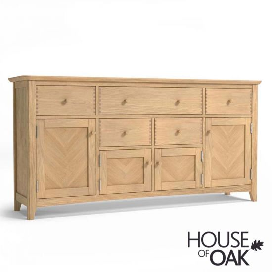 Malmo Oak Extra Long Sideboard
