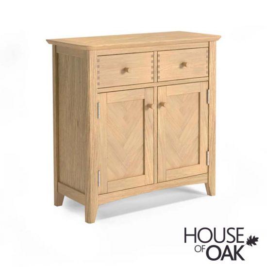 Malmo Oak 2 Drawer Sideboard