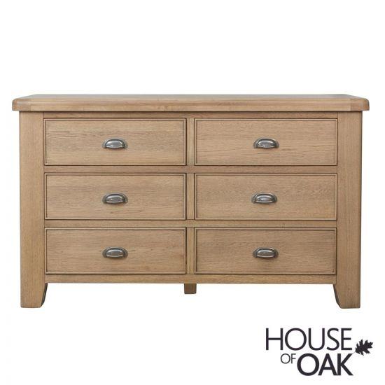 Chatsworth Oak 6 Drawer Chest