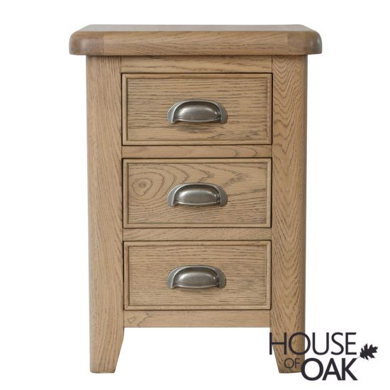 Chatsworth Oak Bedside Cabinet