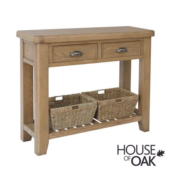 Chatsworth Oak Console Table