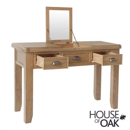 Chatsworth Oak Dressing Table