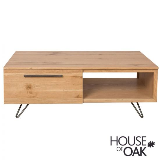 Forged Oak Coffee Table