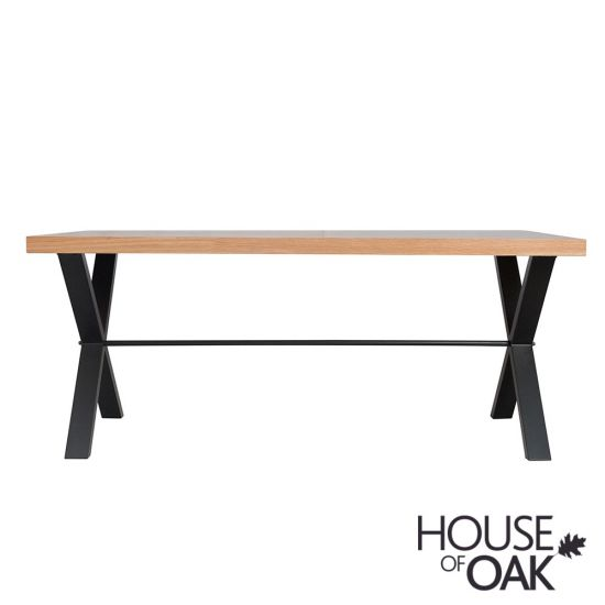 Fusion Oak 130cm Dining Table