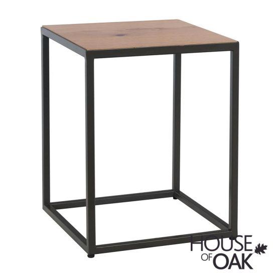 Fusion Oak Side Table