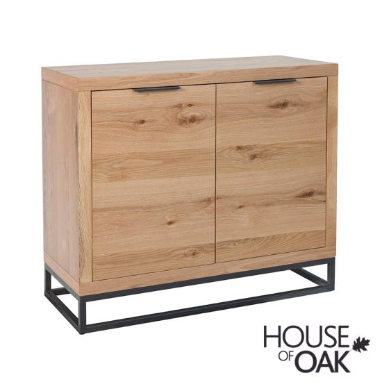 Fusion Oak 2 Door Sideboard