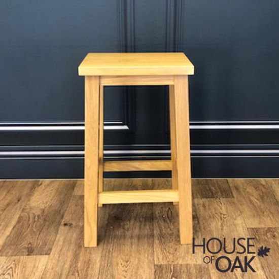 Solid Oak Stool
