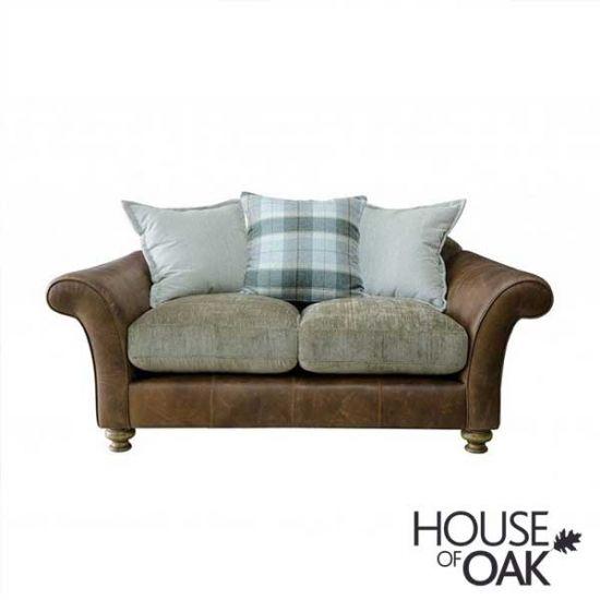 Alexander & James Lawrence 2 Seater Pillow Back Sofa - Option 1