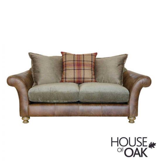 Alexander & James Lawrence 2 Seater Pillow Back Sofa - Option 2