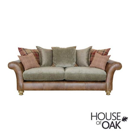 Alexander & James Lawrence 3 Seater Pillow Back Sofa - Option 2