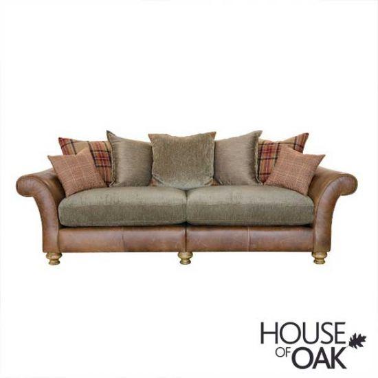 Alexander & James Lawrence 4 Seater Pillow Back Sofa - Option 2