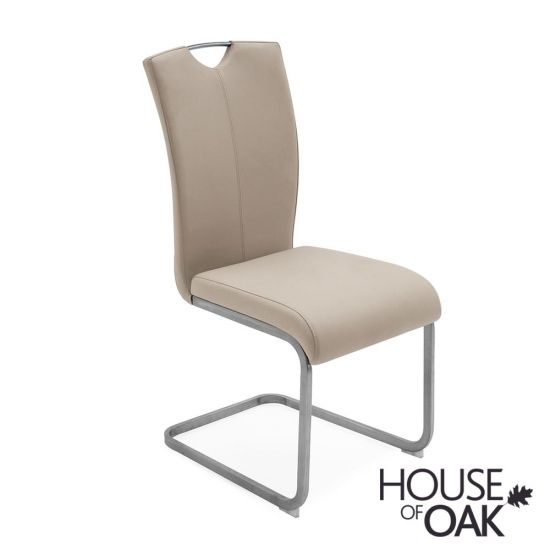 Lazzaro Taupe Dining Chair