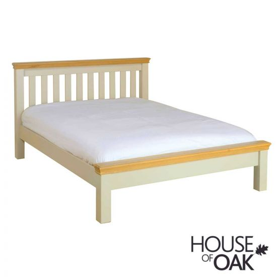 Ambleside 5FT Low Foot End King Size Bed in Ivory