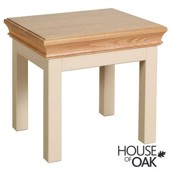 Ambleside Lamp Table in Ivory