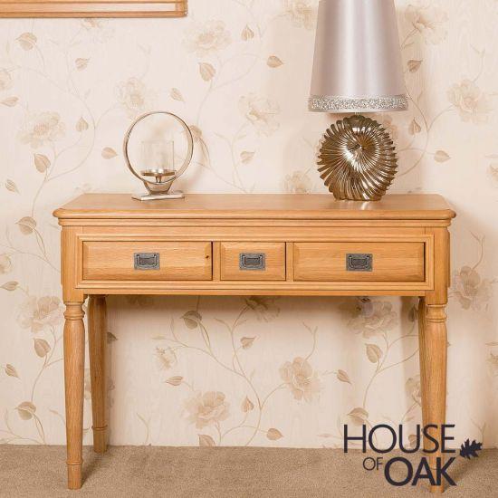 Lyon Oak Dressing Table
