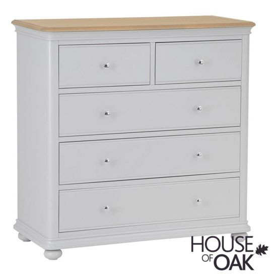 Chelsea Grey 2 Over 3 Chest of Drawers
