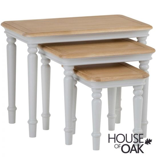 Chelsea Grey Nest of 3 Tables