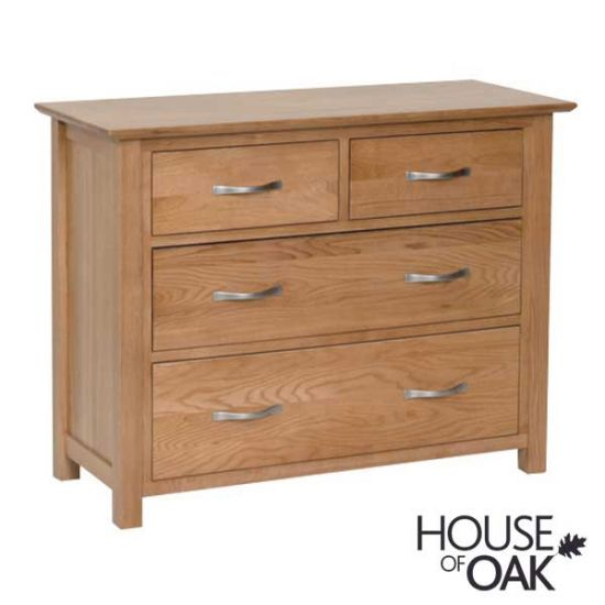 Coniston Oak 2 Over 2 Chest of Drawers