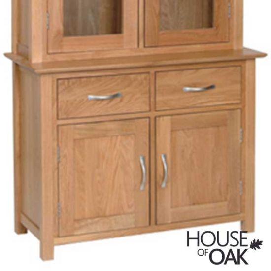 Coniston Oak 2 Door 2 Drawer Dresser Base