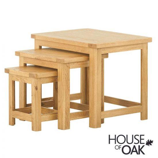 Portman Nest of Tables in Oak