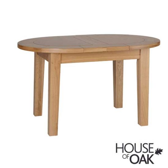 Coniston Oak Small Oval Extending Table