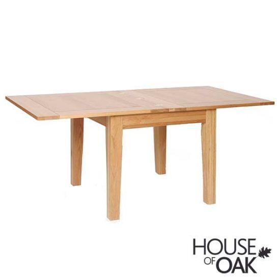 Coniston Oak 3FT Flip Top Extending Table