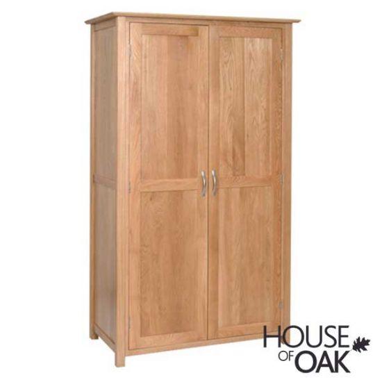 Coniston Oak Double Wardrobe