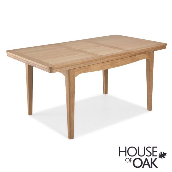 Toulouse 125cm Extending Dining Table in Natural Oak